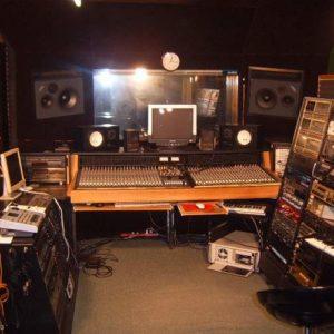 glasbeni snemalni studio Androja
