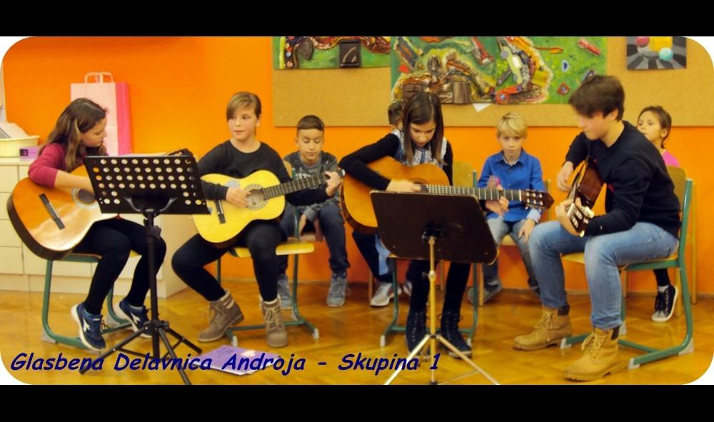 učenje šola kitare sintesajzerja
