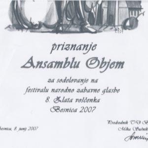 Festival Savinska dolina Objem Revija Casopisni clanek