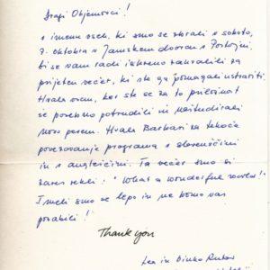 Reference komentarji mnenje strank Zahvala skupini Objem Tea in Vinko