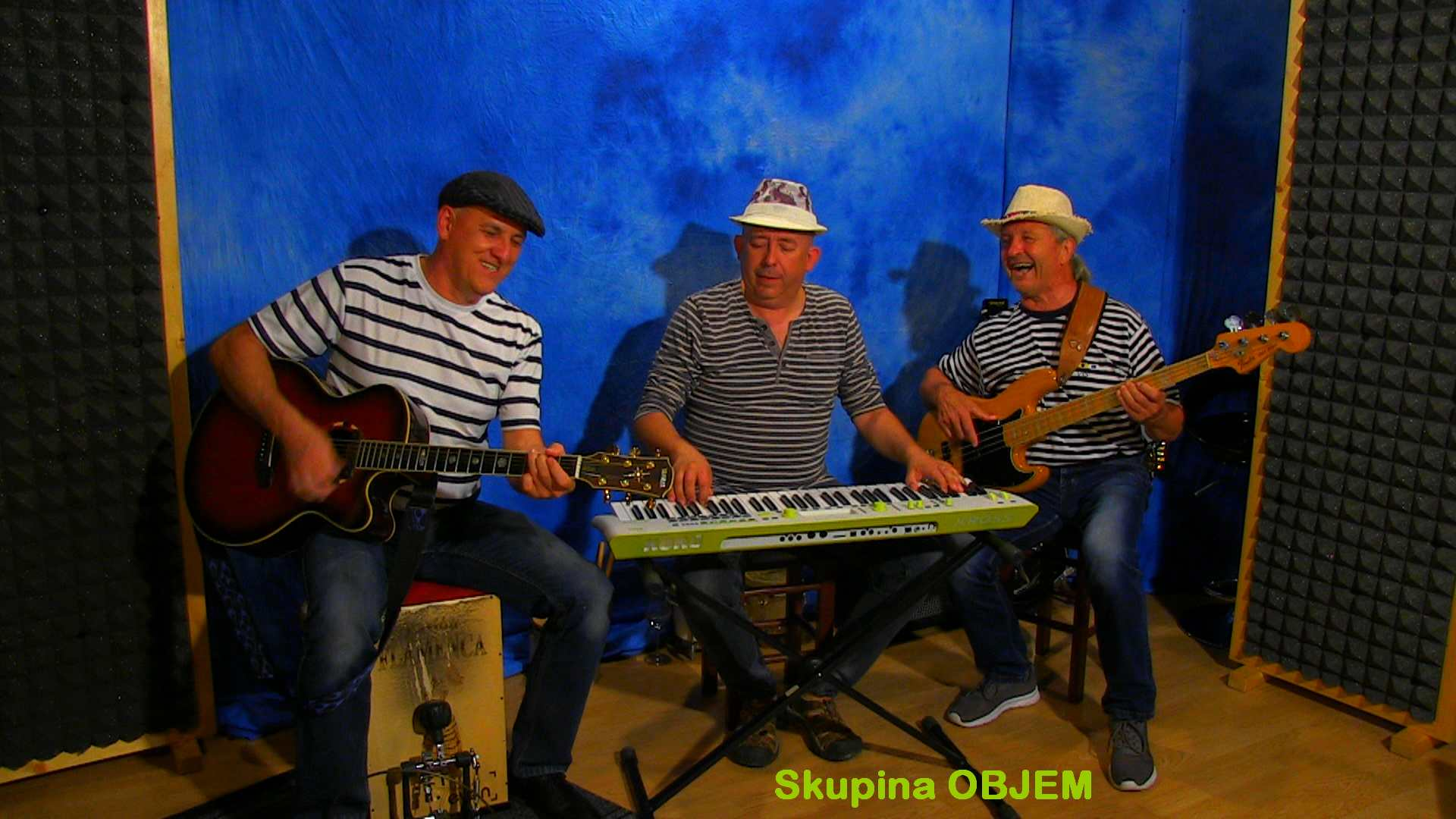 Video posnetki spot video spot glasbeniki muzikanti slovenska glasbena skupina band ansambel Objem