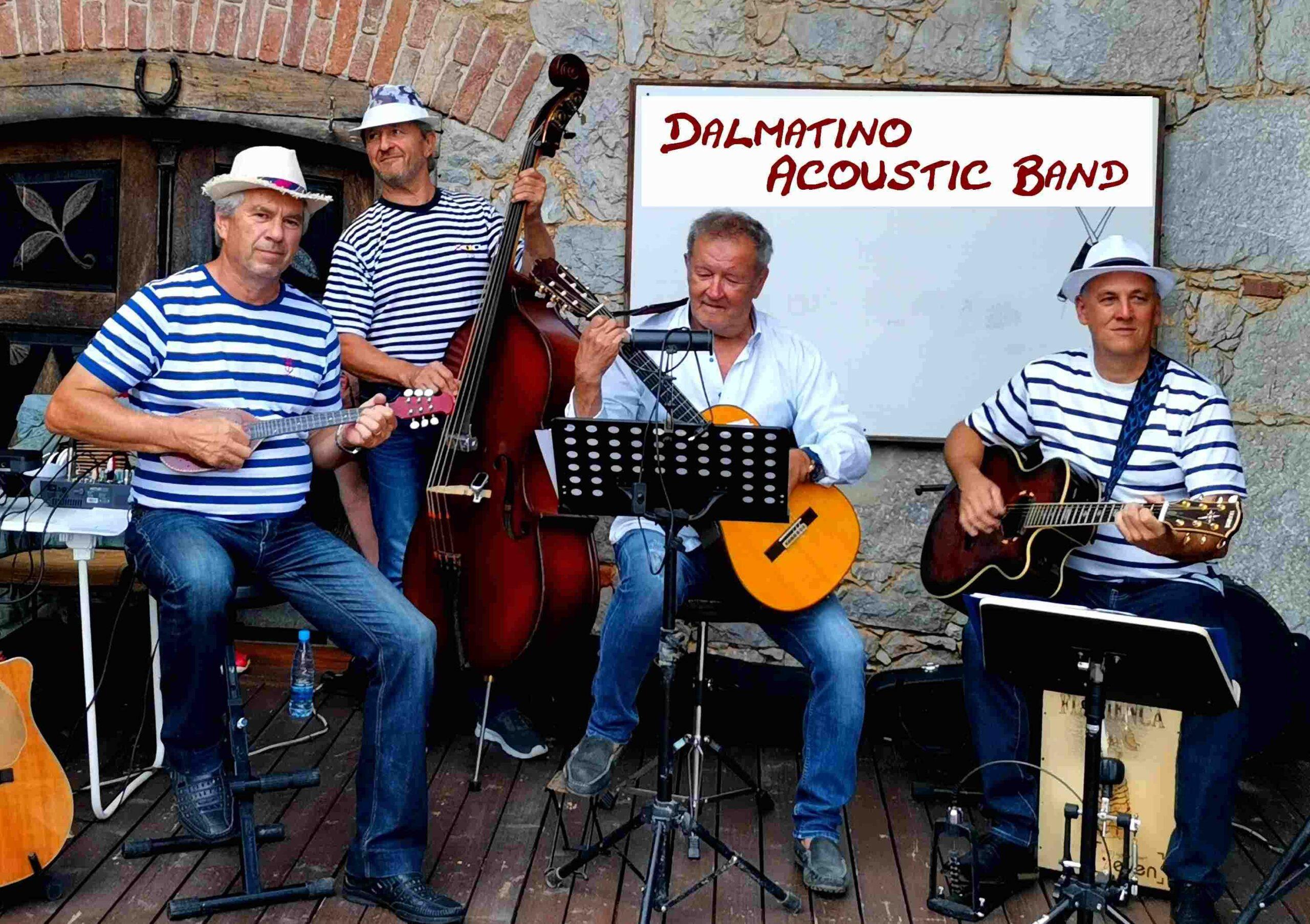 Akustična zasedba Dalmatino Acoustic band