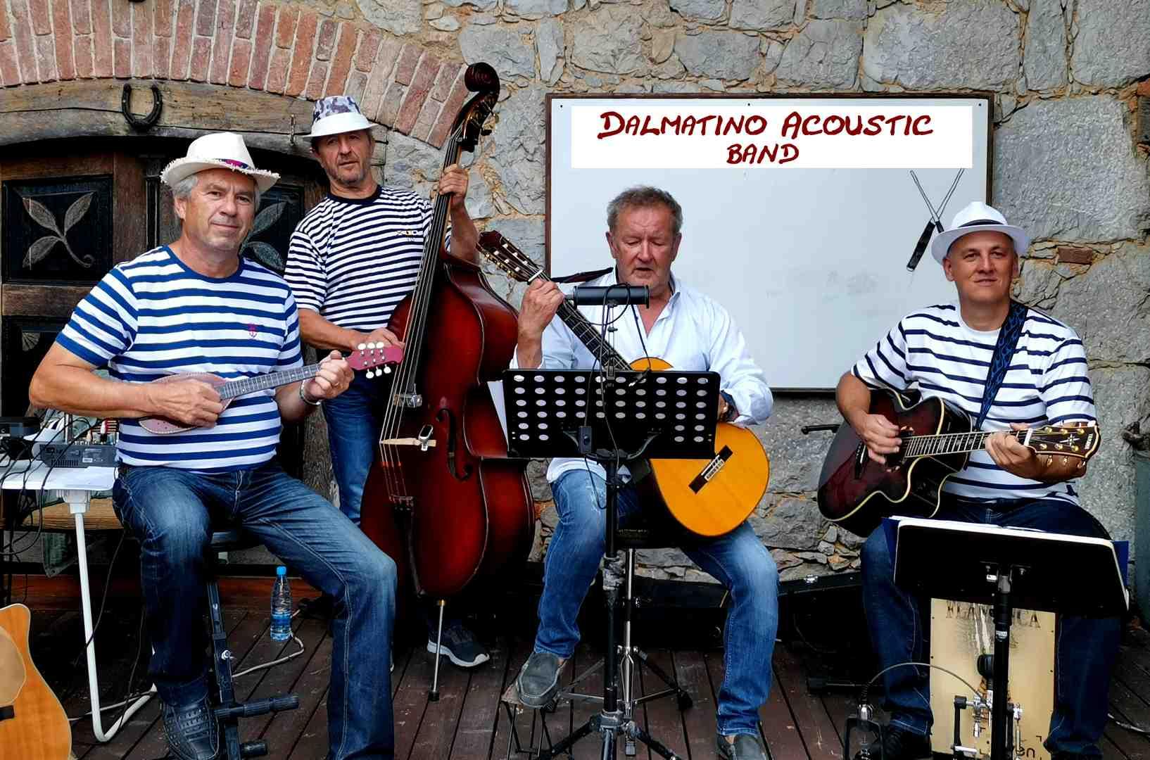 Akustično doživetje Dalmatino Acoustic Band