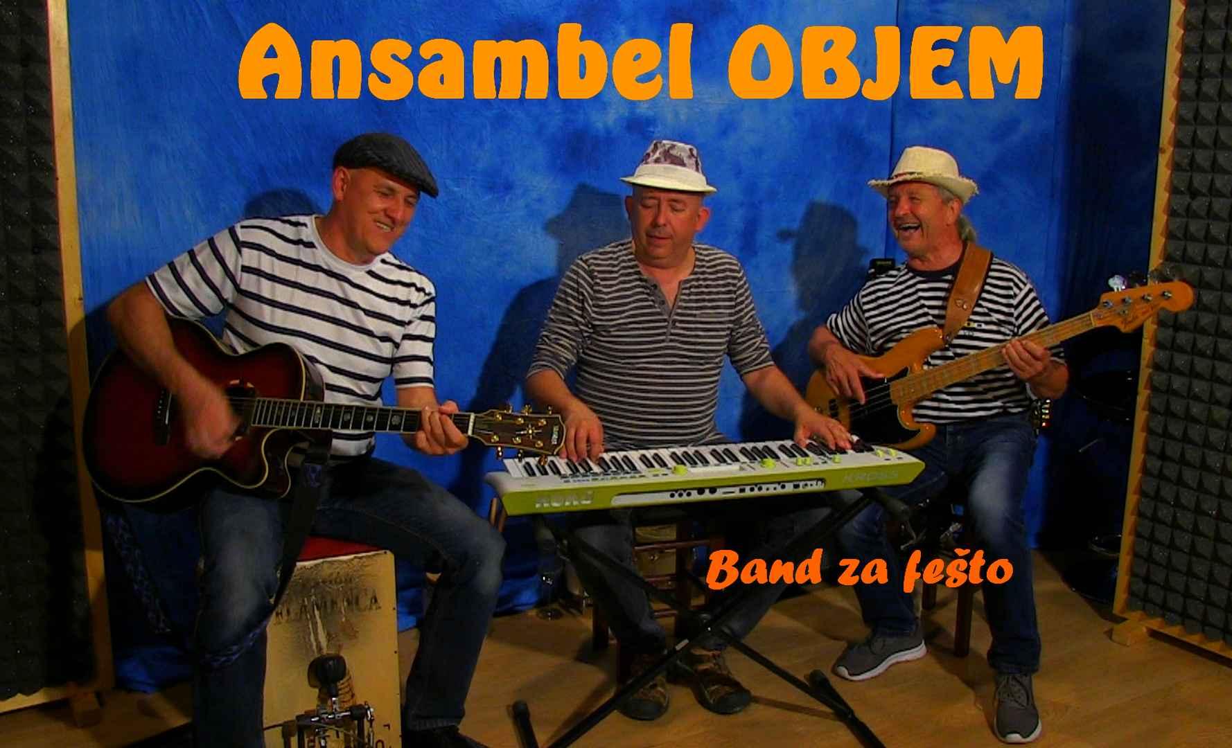 Festa band za festo glasbeniki muzikanti glasbena skupina bend ansambel Objem
