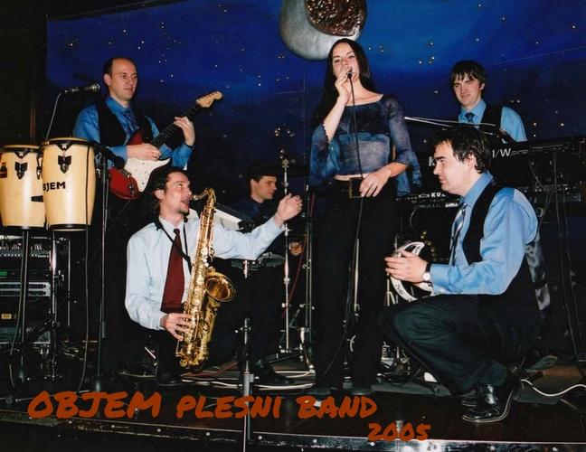 Plesni band Objem 2005