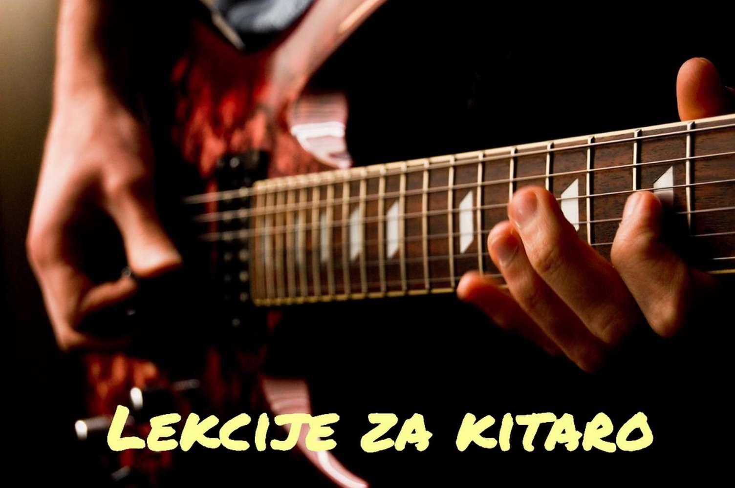 Lekcije učenje igranje kitare
