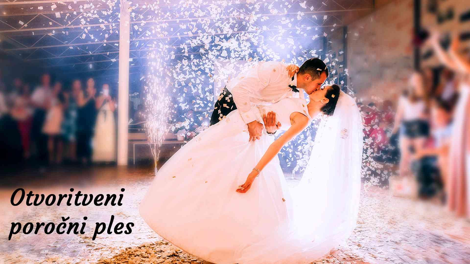 Slovenske pesmi za otvoritveni poročni ples