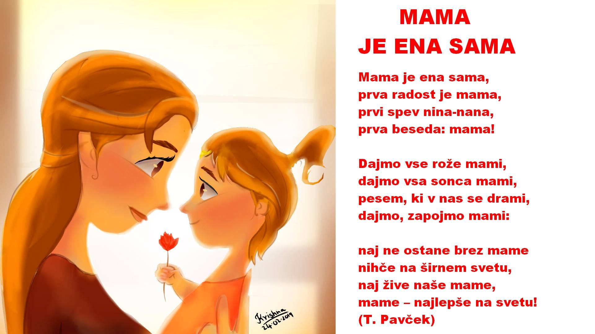 Verzi za materinski dan, verzi o mami, pesmi o mami